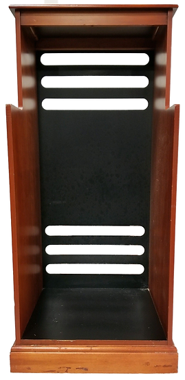 wooden cabinet front view