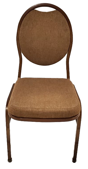 brown stackable banquet chair
