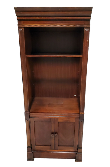 small wooden armoire front view
