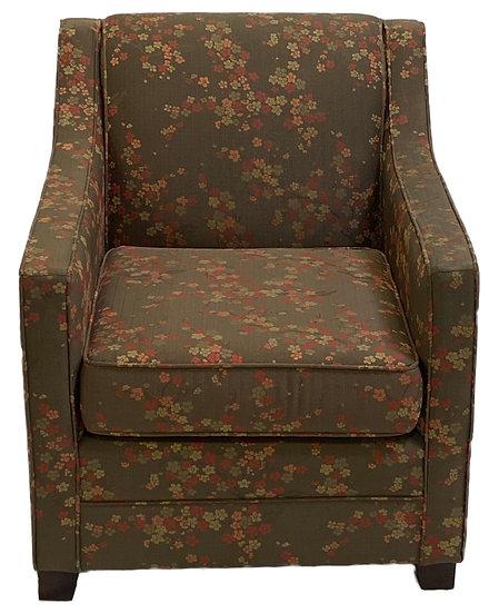 Flower Pattern Comfort Chair