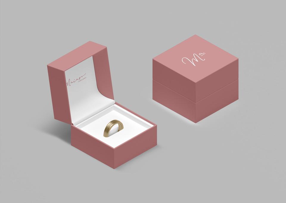 caixa embalagem para anéis