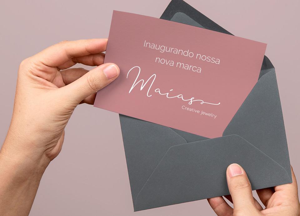 cartão personalizado