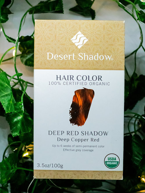 Hair Color - Deep Red Shadow