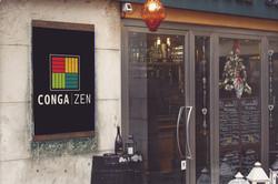 Poster Mockup in Venecia_CongaZen