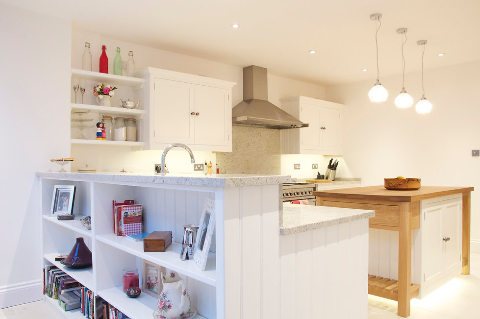 Oak and Painted - Kitchen by Steven Andrews Bespoke