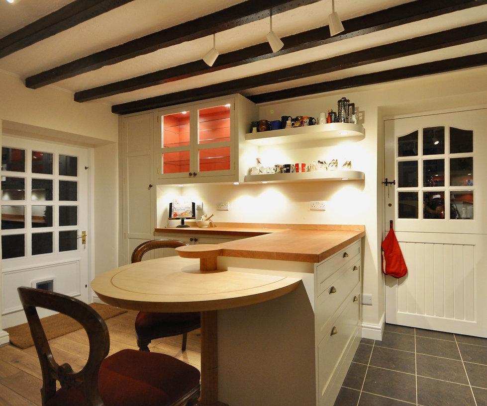 Cherry & Maple Kitchen by Steven Andrews Bespoke