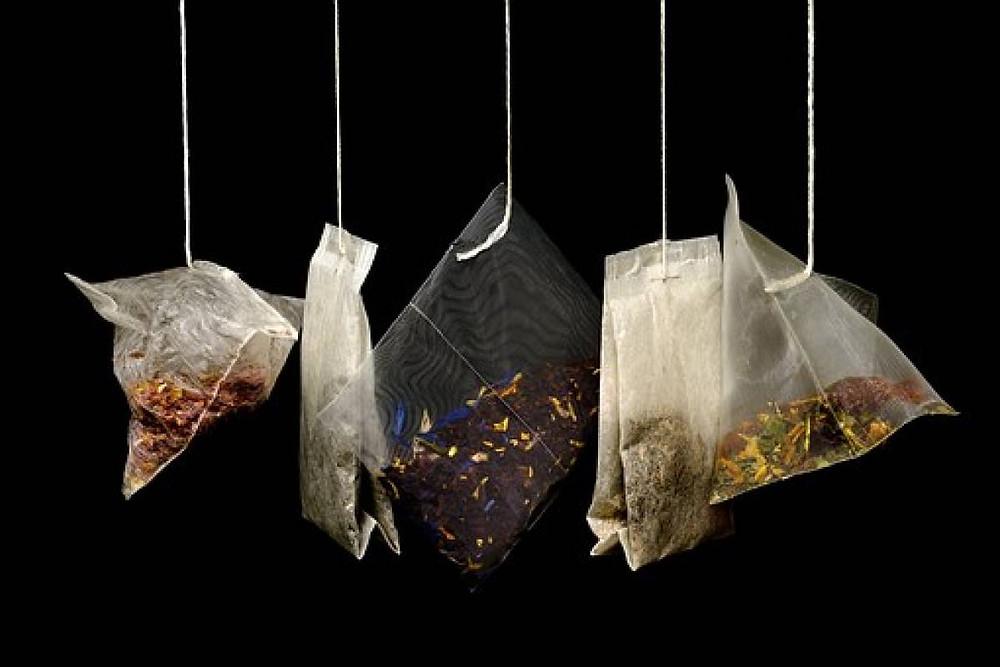 Las bolsas de té contienen mucho plástico