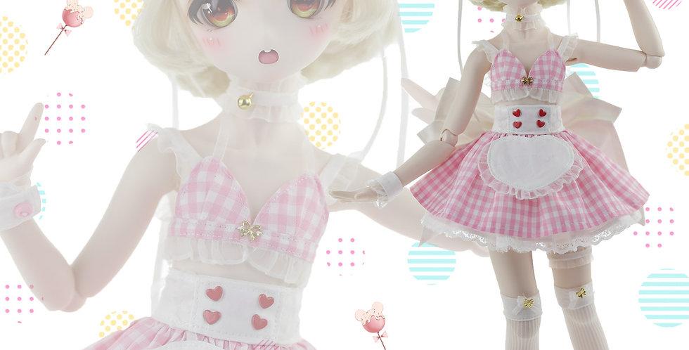 Devil's Little Maid (Pink)by Ban's Closet