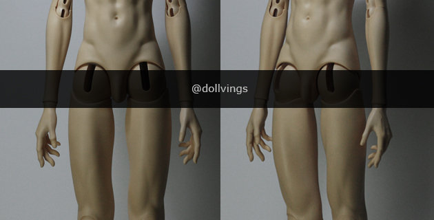 70 Male Body by Vings