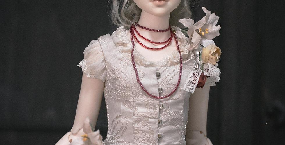 Little White Dress by YUYU Doll