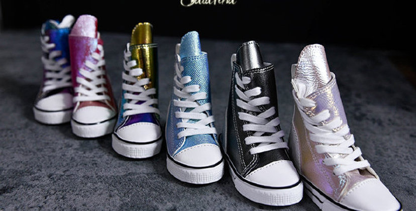 Shinny Skate shoes by Salafina