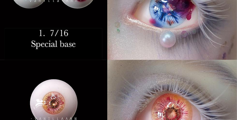 ONE OFF resin eye Jan 2021 by VanillaAnn
