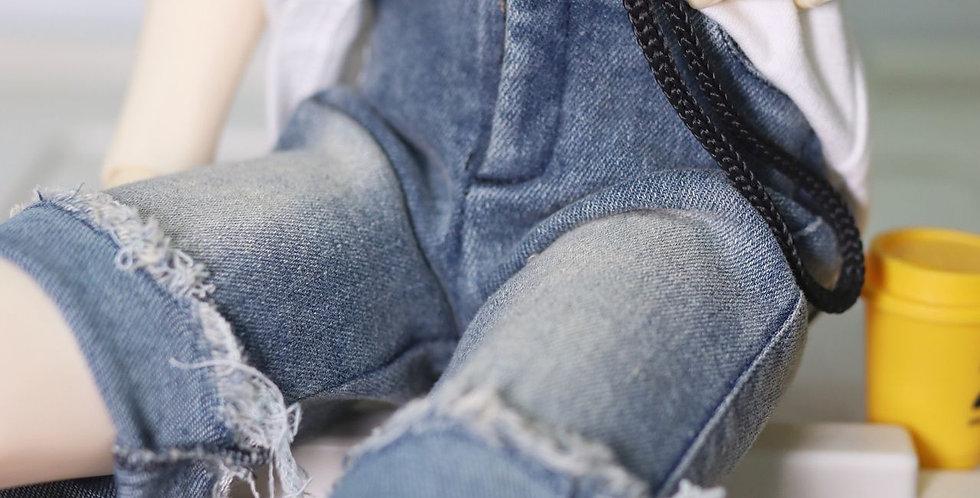 Jean Shorts by Blackkbbo