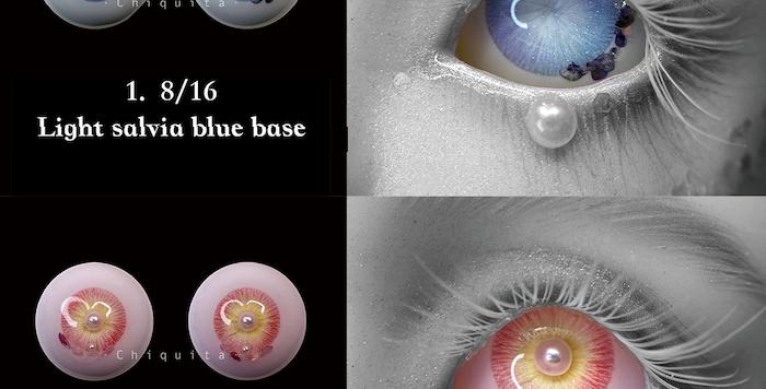 ONE OFF resin eye September by VanillaAnn