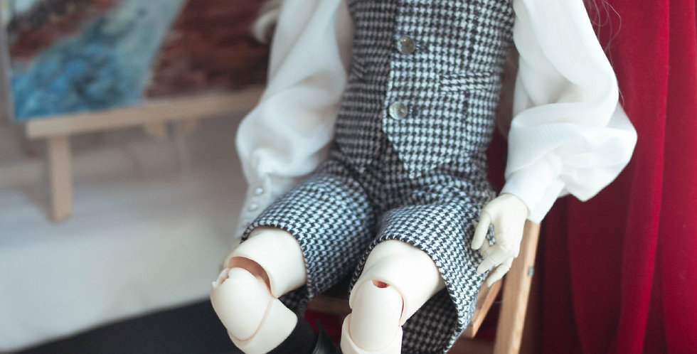 Houndstooth Set by Blank