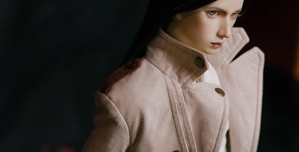 Suede Trench Coat by Luminol Studio