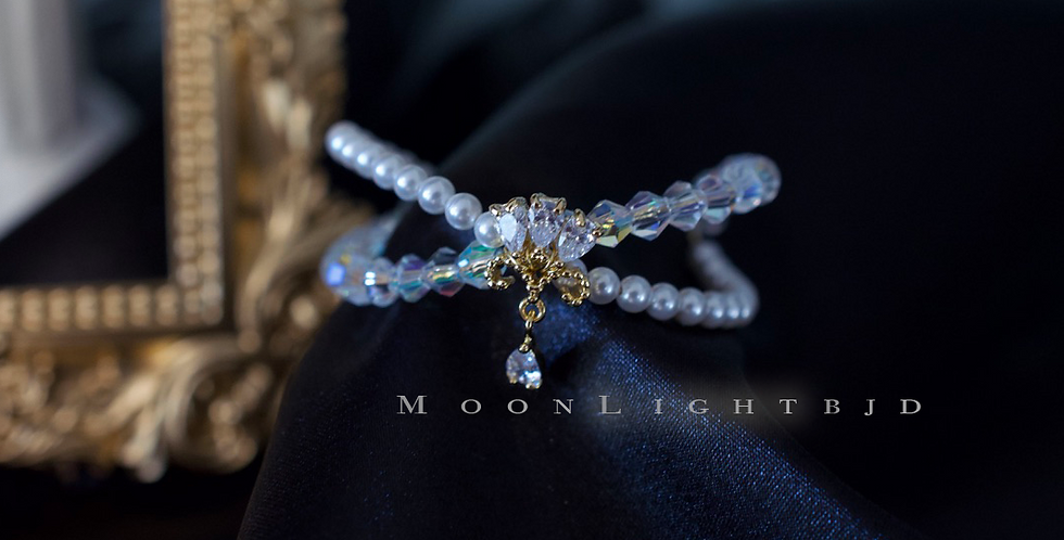 Crystal Pearls set by Moon