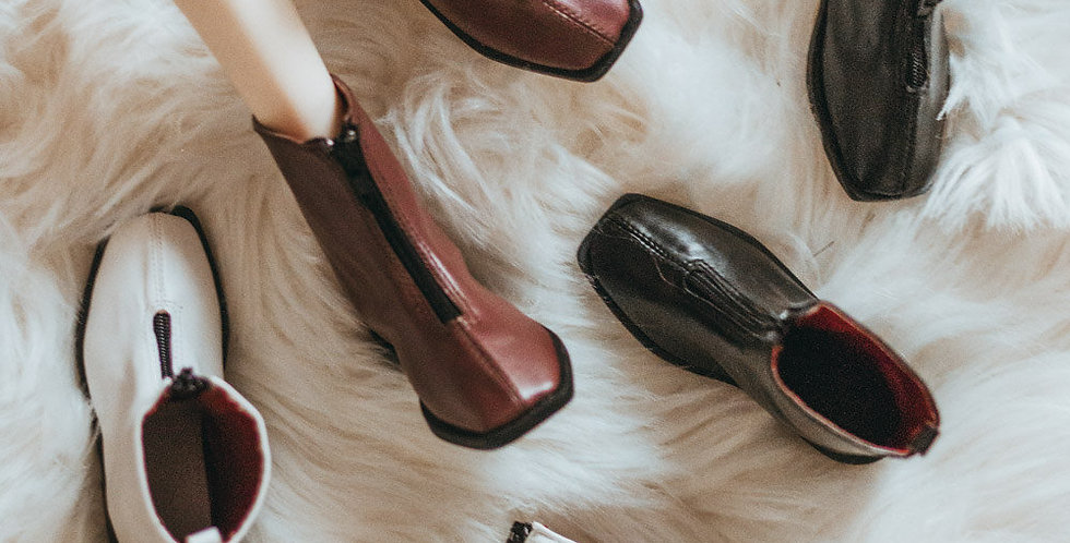 Zipper boots by Luminol