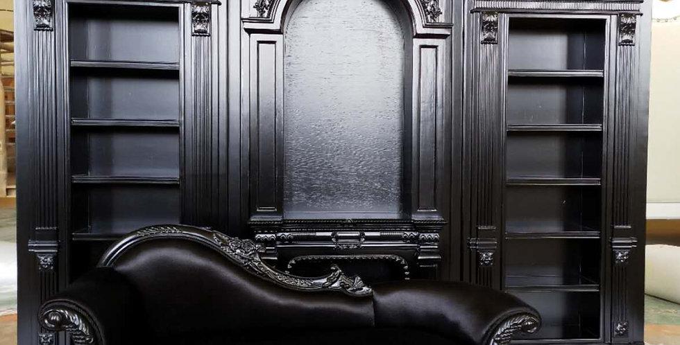 Fireplace & Bookcase by Swingbjd
