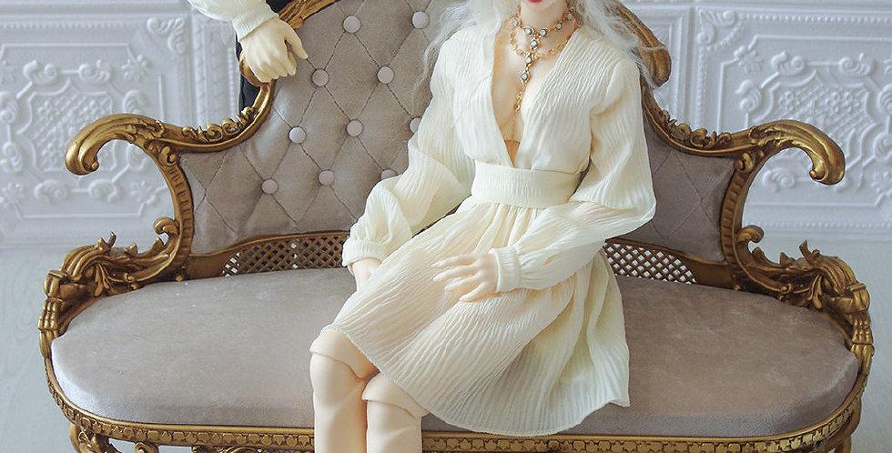 Short V Dress by Q.Q.T.Y