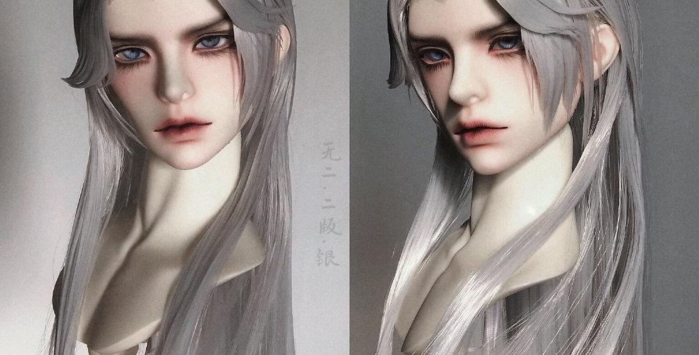 Silver + White by Shi Xian