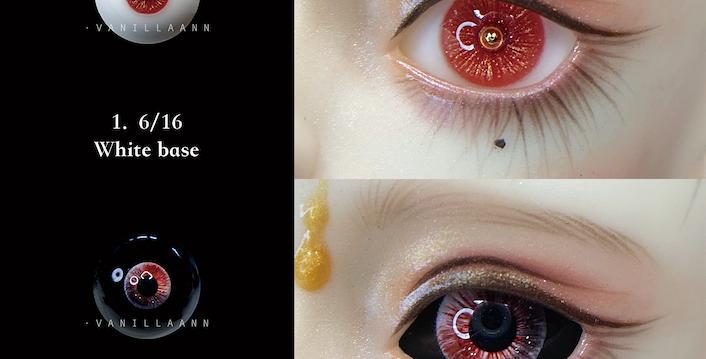 ONE OFF resin eye August by VanillaAnn