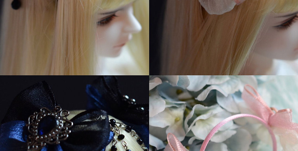 Lolita Hair Bands Collection