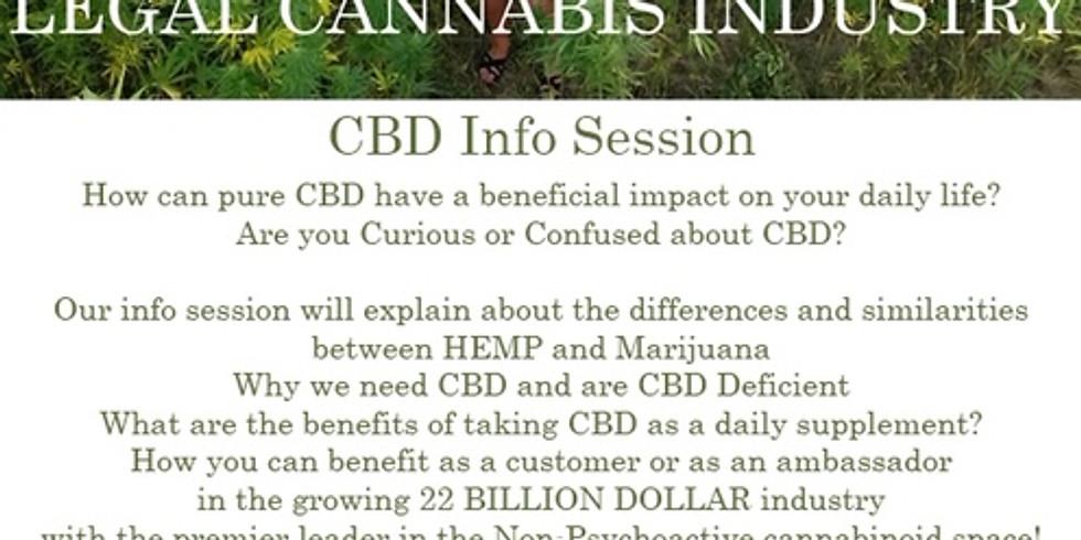 CBD INFO SESSION