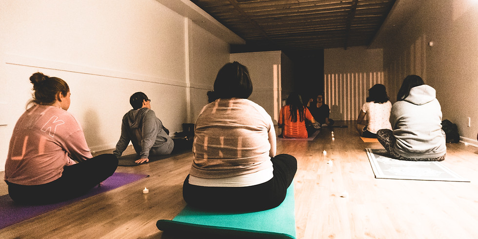 Open level yoga (50%) off this week!