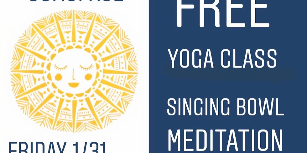 THE YOGA MA -SINGING BOWL MEDITATION - FREE CLASS