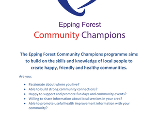 Community Champions required