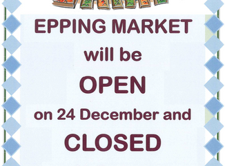 Epping Monday Market Christmas 2018