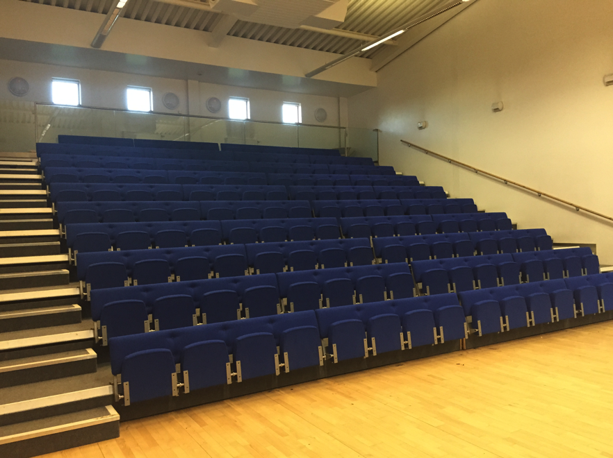 Theatre seating for 126