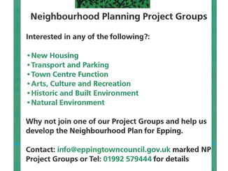Neighbourhood Planning Project Groups
