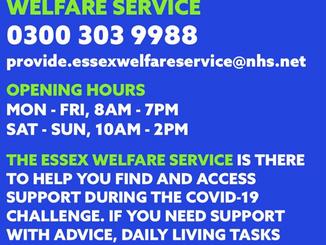 Coronavirus support in Essex