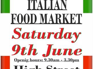 Italian Market 9th June 2018