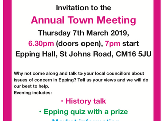 Annual Town Meeting 7th March 2019