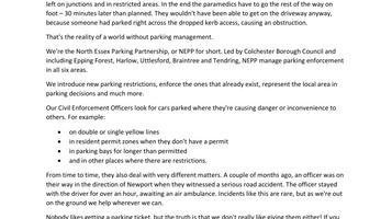 Parking Partnership (NEPP)