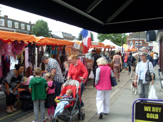 Continental Market visits Epping