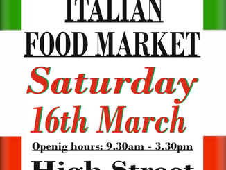 Italian Market, Epping High Street, 16th March 2019, 9.30am-3.30pm