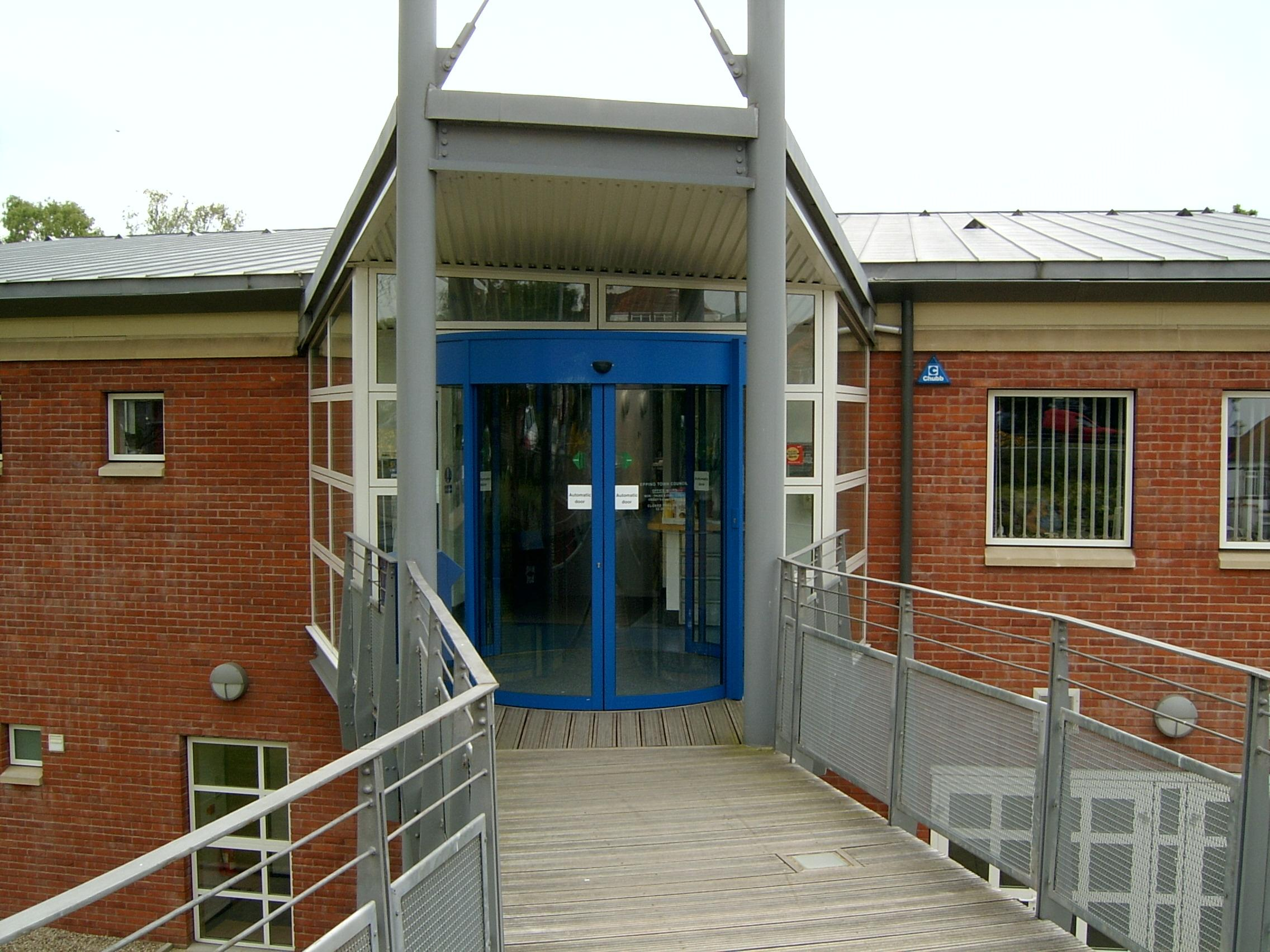 Epping Hall Main Entrance