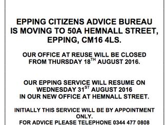 Epping Citizen's Advice Bureau