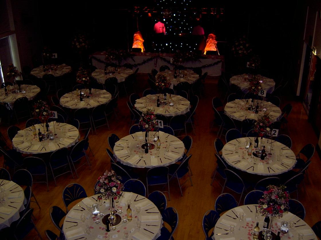 Wedding Reception - lights low