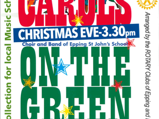 Carols on the Green Epping Christmas Eve 3.30pm