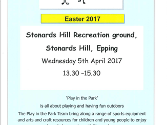 Play in the Park 5th April 2017