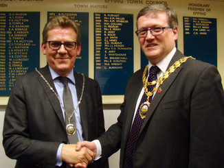 Epping Town Mayor and Deputy Mayor for the Civic Year 2017/18