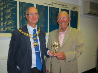 Epping Town Council win petanque match against Epping Forest District Council at Stonards Hill