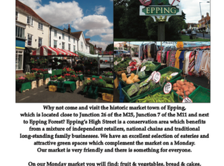 Epping Charter Market, Epping High Street, Every Monday, 8am-4pm