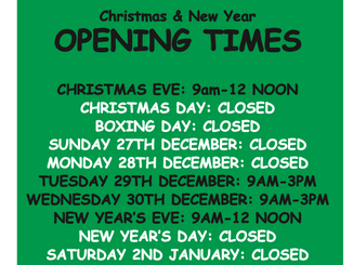 Bakers Lane Toilets Christmas 2015 Opening Hours