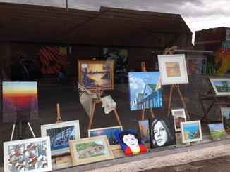 Epping art brightens up empty shop